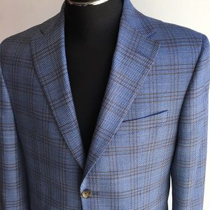 Blue, Brown Windowpane